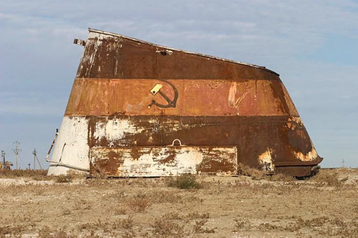 Bir zamanlar Aral Gölü vardı. Fotoğraf:www.ntv.com