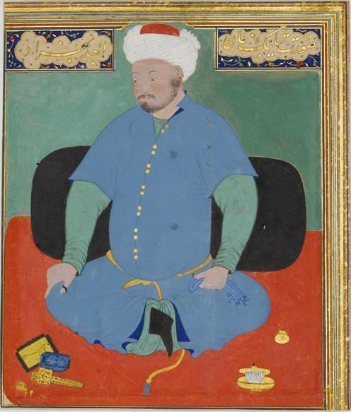 Muhammed Şeybani (Behzad, c. 1507) Fotoğraf:tr.wikipedia.org