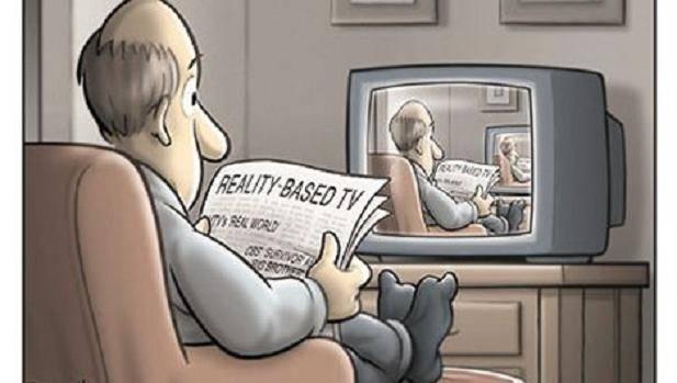 İngiliz siyasi teorisyen ve aktivist Andrew Robinson Ceasefire Magazine'de Baudrillard'a ayırdığı Anlamın Yeni Sistemi adlı yazısında yukarıdaki görseli kullanmış. Fotoğraf:ceasefiremagazine.co.uk.