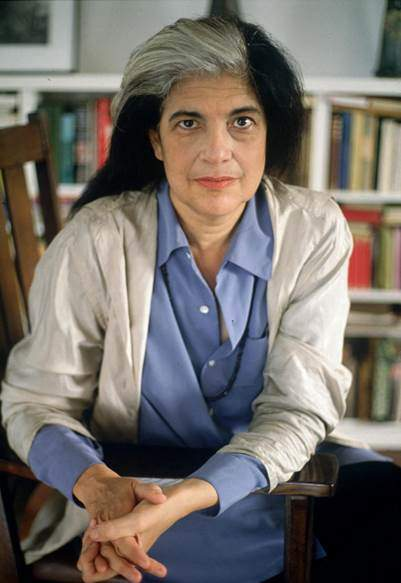 Susan Sontag. Fotoğraf: articles.latimes.com