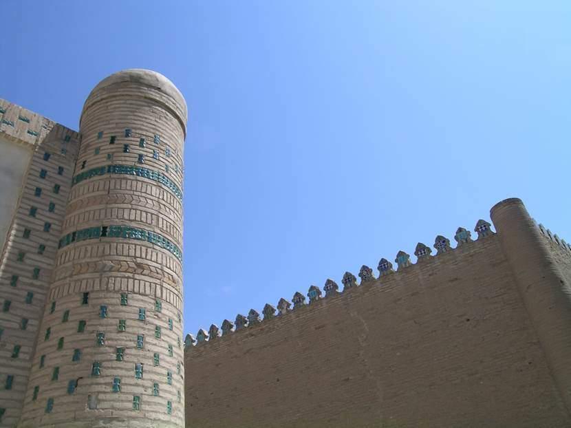 Allah Kuli Han'ın yaptırdığı, Taş Avlu Sarayı da denilen Yeni Saray (1830-1838). Fotoğraf: Füsun Kavrakoğlu
