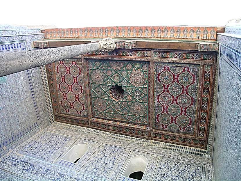 Kabul hanenin tavanı. Fotoğraf: Füsun Kavrakoğlu