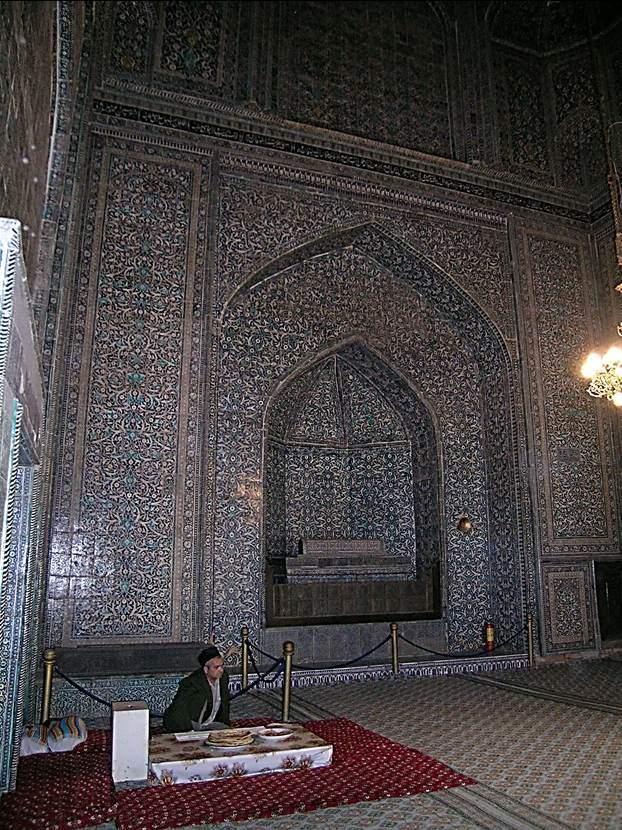Emir Muhammed'in lahdi. Fotoğraf: Füsun Kavrakoğlu