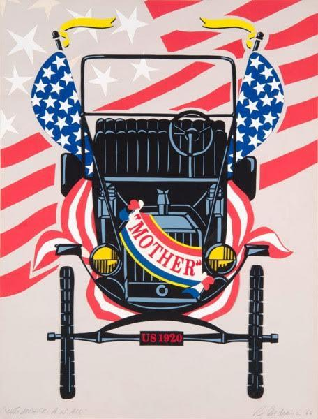 Robert Indiana, Model T, 1966. Fotoğraf:robertindiana.com