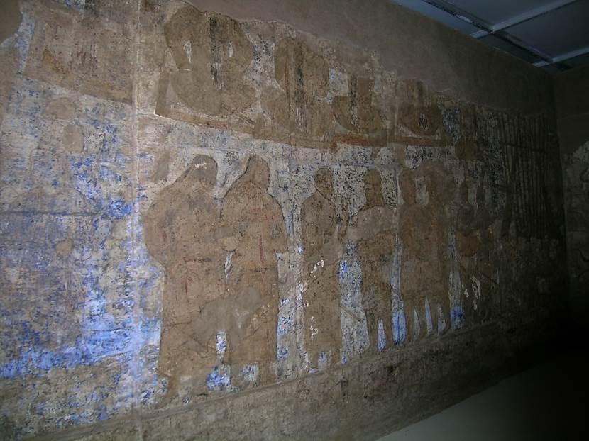 7. yüzyıl, Sogd dönemi. Afrasiyab Tarih Müzesi, Semerkand. Fotoğraf: Füsun Kavrakoğlu