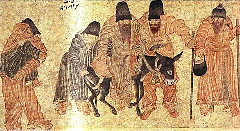 Mehmet Siyah Kalem, Göçerler, Topkapı Sarayı Müzesi. www.radikal.com.tr