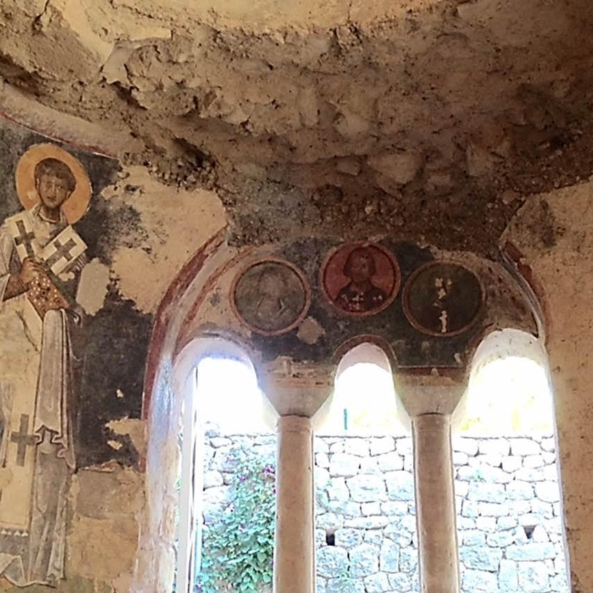Aziz Nicolas Kilisesi'nin içi, Demre, Antalya. Fotoğraf: Füsun Kavrakoğlu