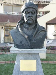 İstemi Kağan-İstemi Yabgu (530?-576). Batı Göktürk Yabgusu. Fotoğraf:www.nkfu.com