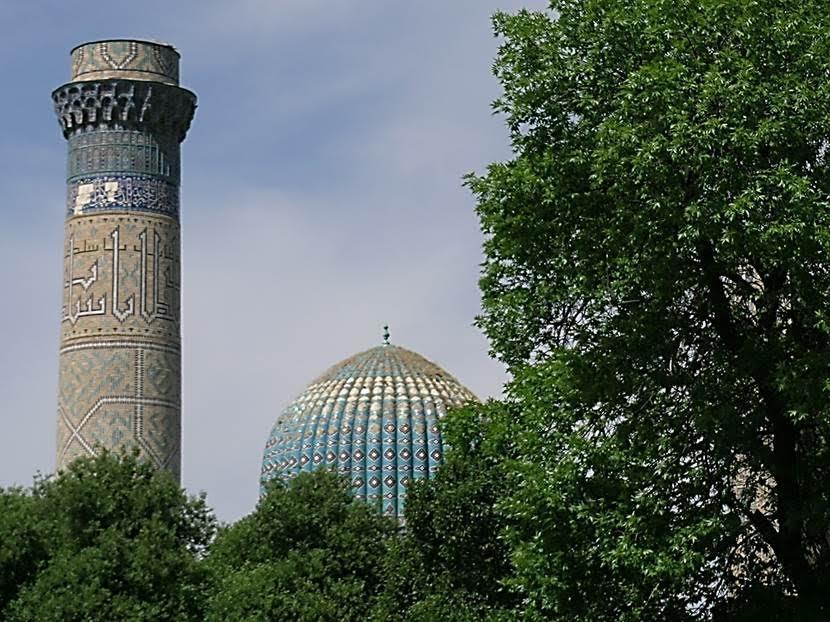 Bibi Hatun Camii'nden. Fotoğraf: Füsun Kavrakoğlu
