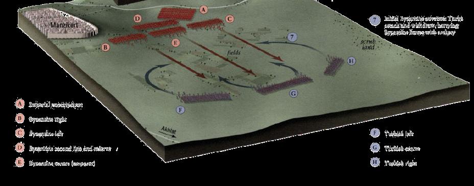 Malazgirt Savaşı, 1071. Fotoğraf:www.thewhitetree.org