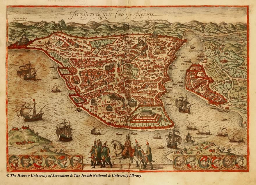 """Rüyaları süsleyen şehir, 1920 yılında İtilaf Devletleri tarafından işgal edilir. Şehre dönemin Yunan Kralı Konstantin'e ithafen asılan afişlerde: """"İstanbul'u bir Konstantin kurdu, Biri kaybetti ve Bir diğeri yeniden alacak. İsa yeniden gökyüzünde göründü"""" yazıyordu. Bu işgalden 400 yıl önce Nostradamus, Yüzükler adlı kitabındaki dörtlükte şöyle yazmış: """"Kongre başkanını tutan devlet adamları İşgal kuvvetlerince sürülecek Malta'ya Girilmiş İstanbul'a alınmış Rodos Adası Ama geldikleri gibi gidecekler sonunda."""""""