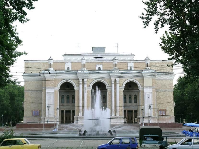 Taşkent Opera Binası. Taşkent'teki Navoy Opera ve Bale Tiyatrosu uluslararası üne sahiptir. Fotoğraf: Füsun Kavrakoğlu
