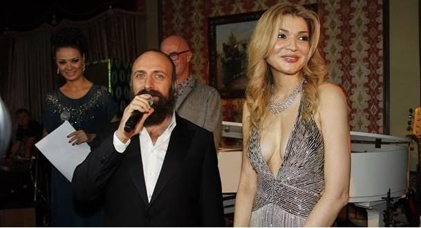Gülnara Kerimova Halit Ergenç'i, 6. yüzyılda geçen dönem dizisinde oynatmak için seçmiş, ülkesine davet etmişti. Fotoğraf:www.yurtmedya.com