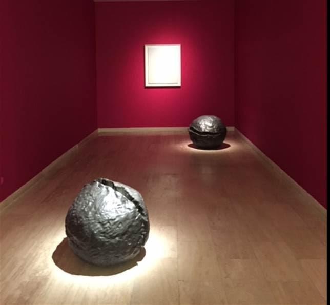 Lucio Fontana, Sabancı Müzesi, Zero Sergisi, 2015. Fotoğraf: Füsun Kavrakoğlu