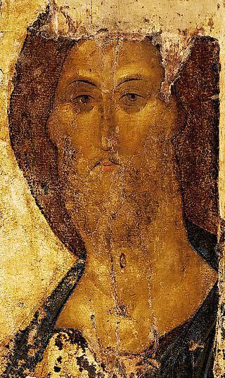Kurtarıcı İsa, Andrei Rublev, 1410. Tretyakov Devlet Galerisi, Moskova. Fotoğraf:en.wikipedia.org