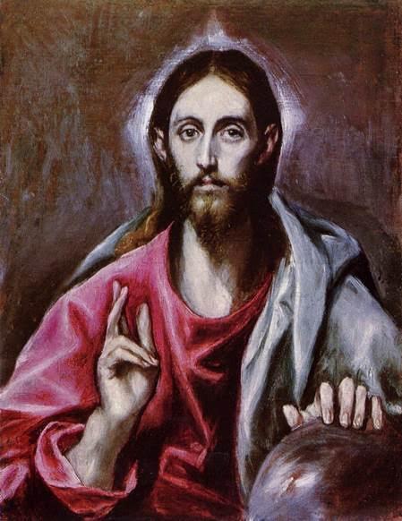 Kurtarıcı İsa, El Greco, 1600. National Gallery of Scotland, Edinburgh Fotoğraf:commons.wikimedia.org