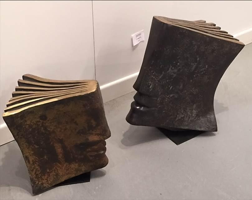 Eligée I, Jacques Lebescond, bronz, Contemporary İstanbul 2015. Fotoğraf: Füsun Kavrakoğlu
