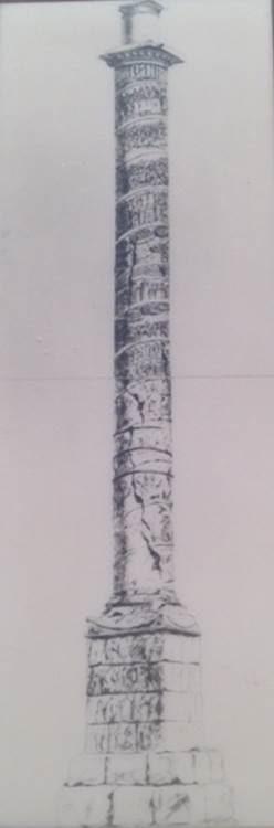 17. yüzyılda Arkadius Sütunu. Bibliotheque National, Paris. Konstantinopolis'in yedinci tepesi üzerinde (Topkapı-Aksaray-Yedikule üçgeni içinde kalan Kocamustafapaşa Tepesi) 403 yılında yapımına başlanıp 421'de bitirilen Arkadius Forumu'nun etrafını revaklı (portikli) yapılar çevirir. Forum'a Arkadius'un heykelini taşıyan bir anıt-sütun dikilir. Sütunun çevresini birçok heykel süsler. Sütun 50 metreye yakın yüksekliktedir. Gövdesindeki kabartmalarda imparatorun zaferleri betimlenir. Tepesine, içten döner merdivenlerle ulaşılır. Heykel, 740 yılındaki depremde düşer. Sütun, 18. yüzyıl başına kadar ayakta kalır. Kaidesi, Cerrahpaşa'daki bir evin bahçesi içindedir. Mokios Sarnıcı da yedinci tepededir.