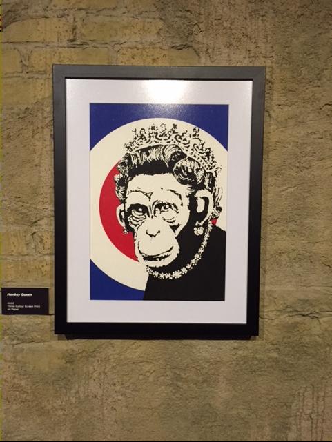 Monkey Queen, 2003. Kraliçe Victoria'ya oral seks yapan kadın resmi 2008 yılında Sotheby's'de 277.000 sterline satılmıştı. Fotoğraf: Füsun Kavrakoğlu