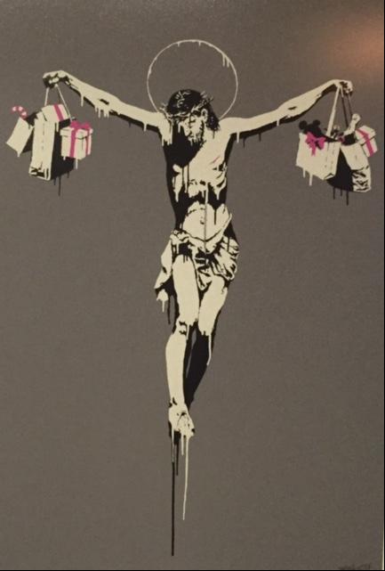 Christ with Shopping, 2004. Fotoğraf: Füsun Kavrakoğlu