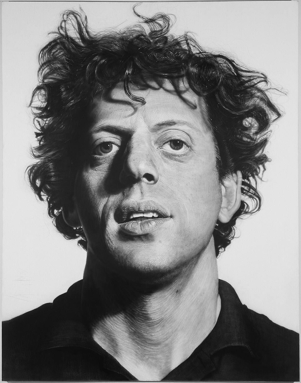 biography of the american photorealist painter chuck close Chuck close self portrait chuck close is an american painter and photographer who first achieved fame as a photorealist how to do a self portrait in the style of chuck close - color in color schemes.