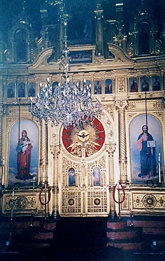 Ayios Yeoryios Kilisesi'nin içinden. Fotoğraf: Füsun Kavrakoğlu