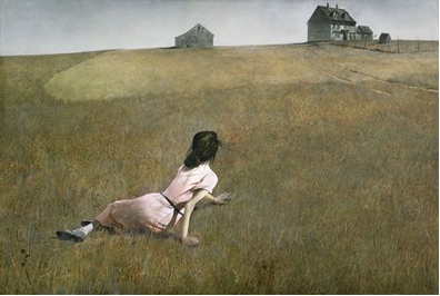 Andrew Wyeth, Christina's World, 1948. Museum of Modern Art, New York City.