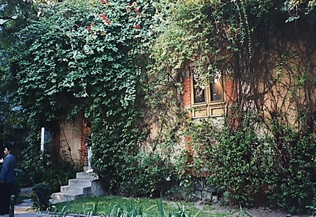 Troçki'nin vurulduğu ev. Günümüzde müze. Fotoğraf: Füsun Kavrakoğlu