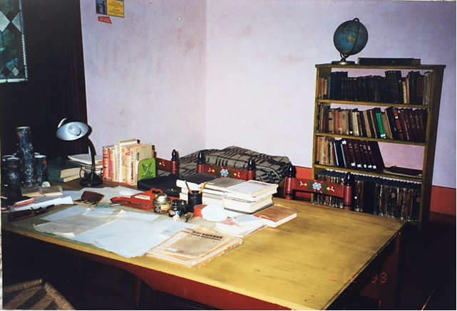 Troçki'nin son çalışma odası. Fotoğraf: Füsun Kavrakoğlu