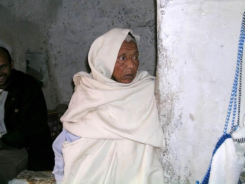 Kasr el Hac'da yaşayan bir kadın. Fotoğraf: Füsun Kavrakoğlu