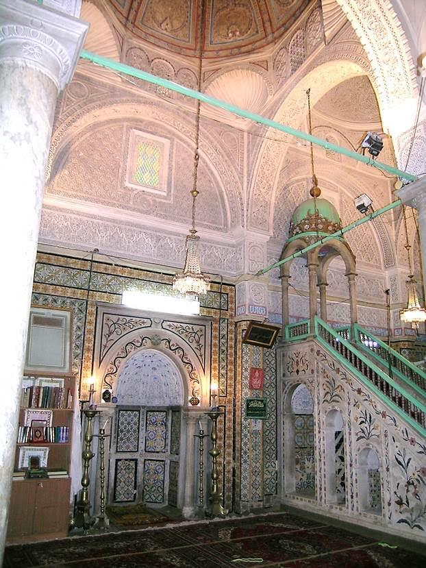 Caminin mihrap ve minberi. Fotoğraf: Füsun Kavrakoğlu