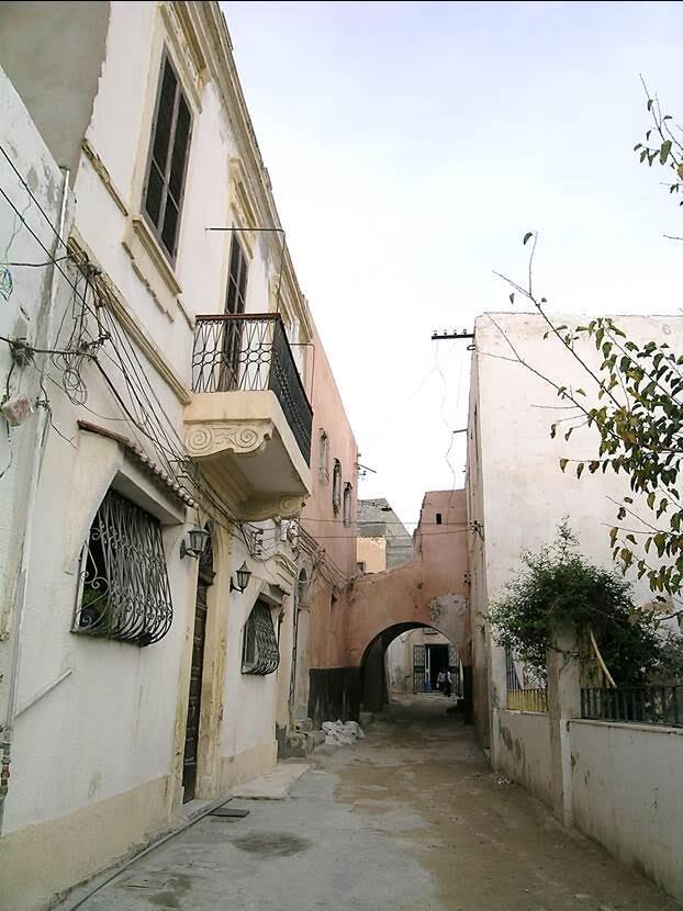 Gürcü Camii'nin karşısındaki sokak. Fotoğraf: Füsun Kavrakoğlu