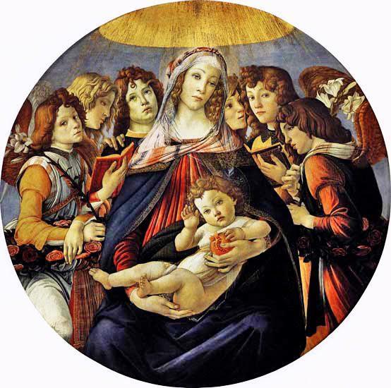 Narlı Madonna, Sandro Botticelli, 1487. Fotoğraf: goldenhorncafe.blogcu.com