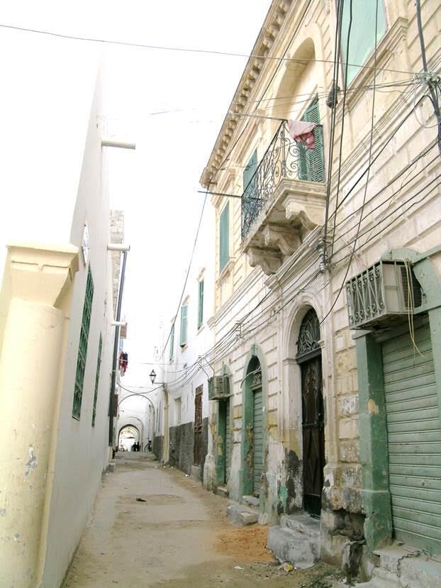 Trablus'ta Fransız Sokağı. Fotoğraf: Füsun Kavrakoğlu