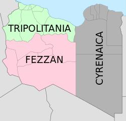 Cyrenaica 1927-1963 yılları arasında tüm doğu Libya'yı içine alan bir eyalettir. Başkenti Bingazi olan bölge, 2012 yılında yarı otonom, 2013'te tam bağımsız olduğunu ilan etmiştir. Fotoğraf:en.wikipedia.org