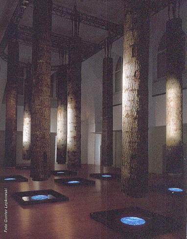 2004 yılında Martin- Gropius-Bau'da, Fabrizio Plessi'nin sergisini gezmiştim. Plessi, sanat hayatı boyunca elektronik teknolojilerle sanal imge geliştirme işi ile uğraşmış. Böylece güncel sanatta geleceğe dönük yollar açmış. Plessi bugün güncel sanatın onsuz olmasının düşünülemeyeceği bir sanatsal uygulamanın öncülerinden sayılmakta. Plessi bütün kıtalarda önemli müzelerde sergiler tasarımlamış. Almanya- Berlin Fotoğraf: Gunter Lepkowski