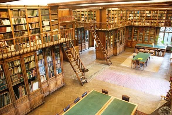 İstanbul Arkeoloji Müzeleri Kütüphanesi. Fotoğraf: Kültür Portalı