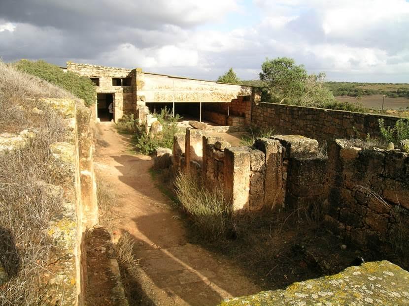 Al-Bayda şehrinin batısında yer alan bu bölgeyi Vandallar'dan Justinyen'in komutanı Belisarius (500-565) almış. Buranın eski adı Olbia idi. Bizans döneminden önce burası Pentapolis'e dahildi, yani beş Roma şehrinden biriydi. Kasr Libya, Libya Sarayı anlamına geliyor. Fotoğraftaki Doğu Kilisesi'nde gezdiğimiz yapı Justinyen döneminden, 6. yüzyıldan kalma. Burası bir Piskoposluk imiş. Doğu ve Batı Kiliseleri'nin halkın gayretiyle yapıldığı sanılıyor. Burası, 1957 yılında, inşaat çalışmaları yapılırken bulunmuş. Fotoğraf: Füsun Kavrakoğlu