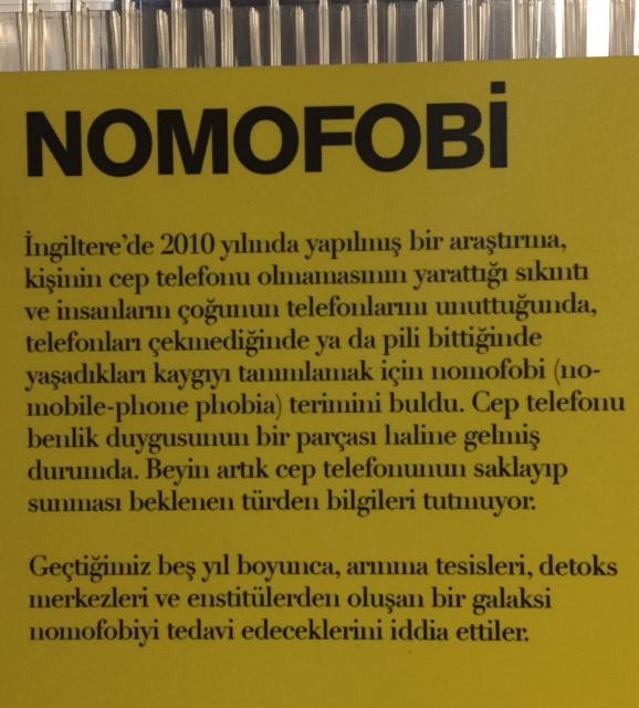 İstanbul Kültür Sanat Vakfı tarafından 2016 yılında düzenlenen 3. Tasarım Bienali'nde Galata Özel Rum İlköğretim Okulu'nda yer alan Biz İnsan mıyız? adlı sergiden. Fotoğraf: Füsun Kavrakoğlu