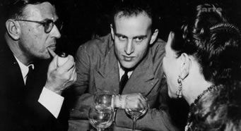 Boris Vian, Simone de Beauvoir, Jean-Paul Sartre ve Albert Camus'nün arkadaşıydı. Fotoğraf: blog.seniorennet.be