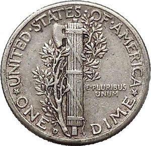 ABD paralarında da Fasces kullanılmış. Fotoğraf: eBay