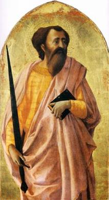 Aziz Pavlus, Masaccio, 1426-28. Fotoğraf: Pinterest