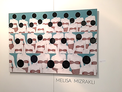 Fotoğraf sanatçısı Melisa Mızraklı'nın Contemporary İstanbul 2015'te yer alan eseri. Fotoğraf: Füsun Kavrakoğlu