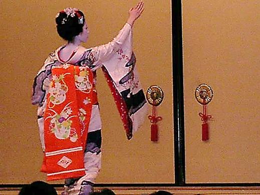 Kyoto, Gion Corner Gösteri Merkezi'nde. Fotoğraf: Füsun Kavrakoğlu