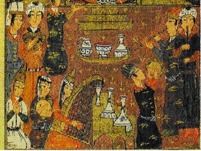 Yazılı ve görsel belgelerden öğrendiğimize göre arp, telli çalgıların en eski örneğidir. Sümer, Asur, Mısır, Orta Asya, Moğol, Timurlu, İran ve Hint sarayları ile Araplarda kullanılmış, en eski medeniyetlerden aktarılarak Osmanlı'ya ulaşmıştır. Çeng, Osmanlı kültüründe kadınlarla ilişkilendirilmiştir. Çengi, hem Çeng çalan kadını, hem de dans eden kadını tanımlayan bir sıfat olmuştur. Fotoğraf:www.musikidergisi.net
