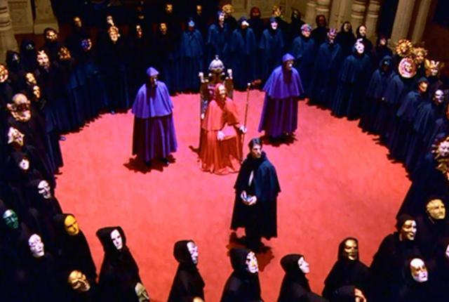 Gözleri Tamamen Kapalı, Stanley Kubrick, 1999. Fotoğraf: magis.iteso.mx