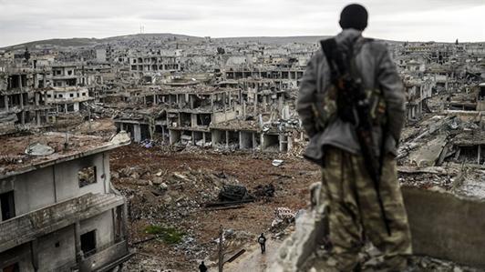 Suriye'de iç savaş birçok şehrin yok olmasına neden oldu. Fotoğraf: elobservador.com.uy