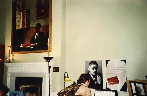 Dublin'deki James Joyce Merkezi. Fotoğraf: Füsun Kavrakoğlu