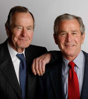 Evanjelik hareket içinde Presbiteryen, Metodist veya Baptist gibi kiliseler var. Evanjelik olduğunu beyan etmiş olan Başkan Carter hayal kırıklığı yaratmıştı. İki başkan çıkartmış olan Bush ailesi ise Baptist. Fotoğraf: houstonchronicle.com