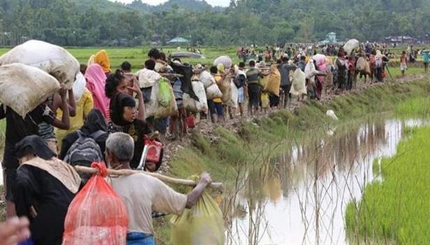 Günümüzde de aynı amaçla aynı hunharca eylemler yaşanmaktadır: Örneğin Myanmar'ı sadece Budistlerden oluşan bir devlet haline getirmek için Myanmar ordusu yıllardan beri Arakan Müslümanlarına yönelik etnik temizlik yürütmektedir. Saldırı, terör ve açlığa mahkum etme yöntemiyle Müslümanlar, Müslüman Bangladeş'e kitlesel göçe zorlanmaktadır. Myanmar ordusu hem ülkeden kaçan yüz binlerce Arakanlıyı katletmek hem de Bangladeş'e sığınanların geri dönüşünü engellemek için Bangladeş sınırına da mayın döşüyor. Arakan'da yaşayan, Rohingyalı olarak adlandırılan bu Müslüman gruplar yıllardan beri devlet terörü ile karşı karşıya. Fotoğraf: Değişim Haber